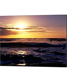 Coastline At Sunset By Paul Thompson / Danita Delimont Canvas Art