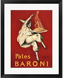 Pates Baroni 1921 By Leonetto Cappiello Framed Art