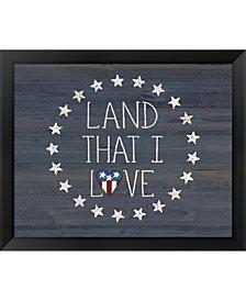 Land I Love 2 By Jo Moulton Framed Art