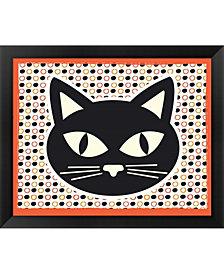 Black Cat By Nd Art & Design Framed Art