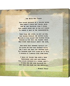 Robert Frost Road Le Canvas Art