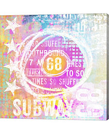 Sixty Eight By Andrea Haase Canvas Art