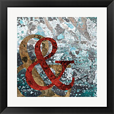 And By Posters International Studio Framed Art
