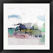 Palette Landscape I by PI Galerie Framed Art