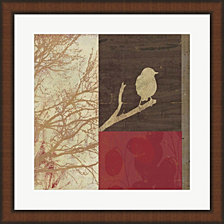 Perched By Posters International Studio Framed Art