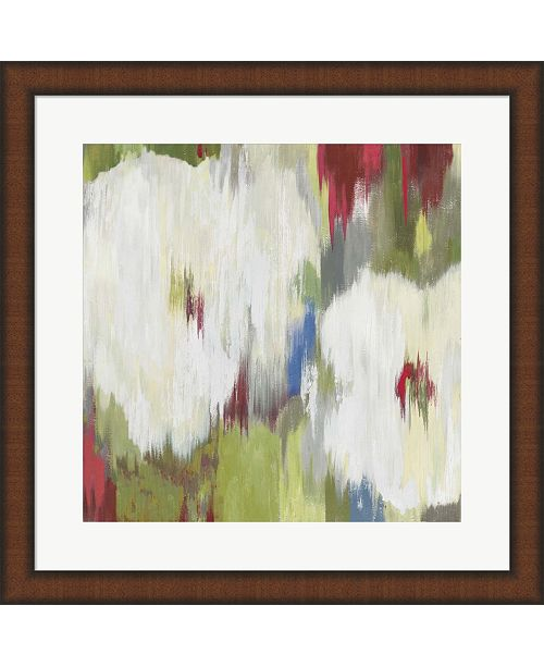 Metaverse Ikat Avenue Ii By Aimee Wilson Framed Art