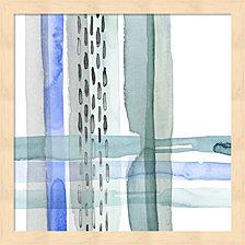 Cross Stitch Ii By Grace Popp Framed Art