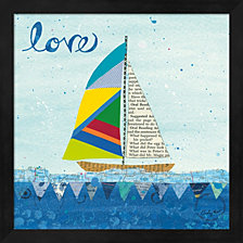 Once Upon A Love 1 by LovISart Framed Art