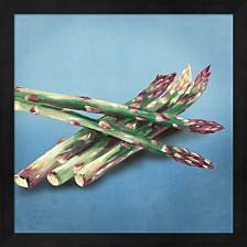 Asparagus By Asia Jensen Framed Art