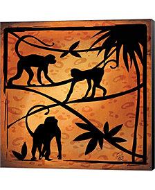 Safari Silhouette II by Gena Rivas-Velazquez Canvas Art