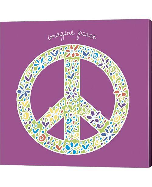 Metaverse Imagine Peace By Erin Clark Canvas Art