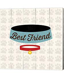 Best Friend Bowl By Louise Carey Canvas Art