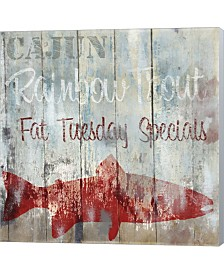 New Orleans Seafoo3 By Color Bakery Canvas Art