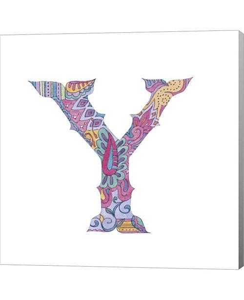 Metaverse Y By Green Girl Canvas Canvas Art