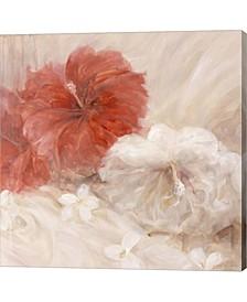 Hibiscus III By Li Bo Canvas Art