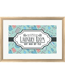 Laundry Room Sign Gr By Color Me Happy Framed Art