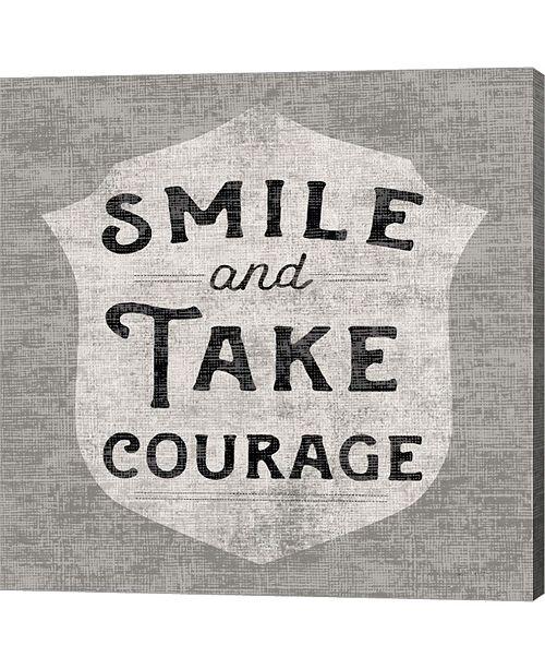Metaverse Take Courage By Sue Schlabach Canvas Art