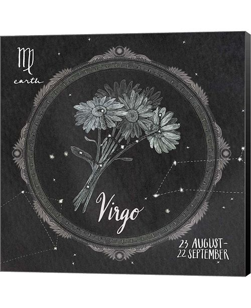 Metaverse Night Sky Virgo By Sara Zieve Miller Canvas Art