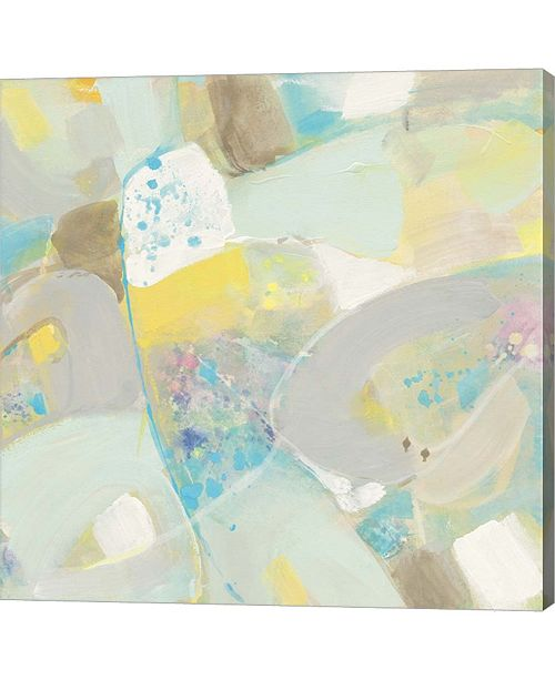 Metaverse White Rock II By Albena Hristova Canvas Art