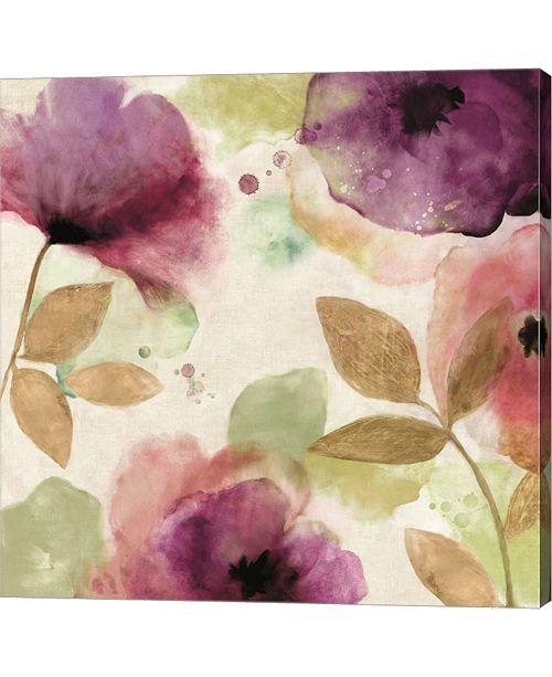 Metaverse Watercolour Florals By Aimee Wilson Canvas Art