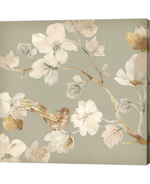 Metaverse Paradise Magnolia Ii By Asia Jensen Canvas Art