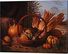 Autumn Cornucopia By Kevin Spaulding Canvas Art