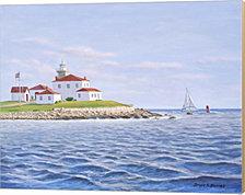 Watch Hill Light II by Bruce Dumas Canvas Art