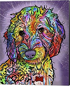 Sweet Poodle By Dean Russo Canvas Art