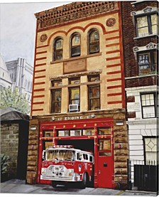 Fdny Engine 47 By Paul Walsh Canvas Art