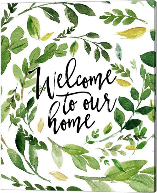 Metaverse Welcome To Our Home By Tara Moss Canvas Art