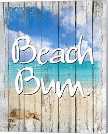 Beach Bum by Tina Lavoie Canvas Art