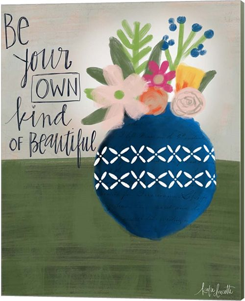 Metaverse Your Own Beautiful By Katie Doucette Canvas Art