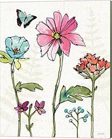Simply Petals VII by Anne Tavoletti Canvas Art