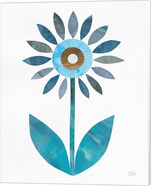 Metaverse Retro Blooms Iii By Melissa Averinos Canvas Art