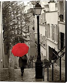 Paris Stroll II by Sue Schlabach Canvas Art