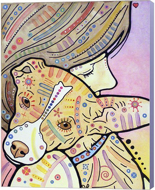Metaverse Pixie By Dean Russo Canvas Art