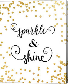 Sparkle & Shine by Tara Moss Canvas Art