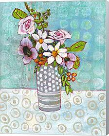 Sophia Daisy Flowers by Blenda Tyvoll Canvas Art