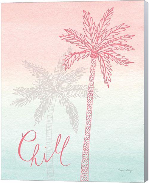 Metaverse Sunset Palms Ii By Elyse Deneige Canvas Art