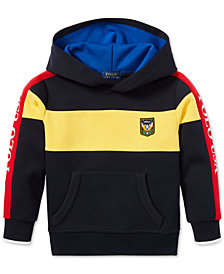 Polo Ralph Lauren Little Boys Downhill Skier Colorblocked Tech Hoodie