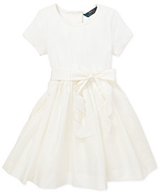 Polo Ralph Lauren Toddler Girls Woven Fit & Flare Dress