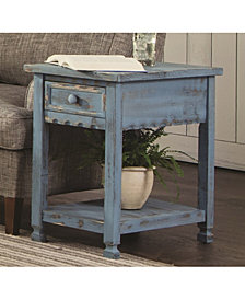 Country Cottage Chairside Table