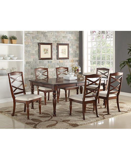 Benzara Cottage Style Dining Table - Furniture - Macy\'s