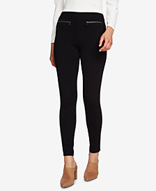 1.STATE Zip-Detail Leggings