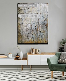 'Instinct' Abstract Canvas Wall Art Set Collection