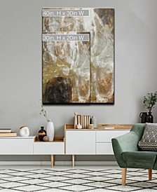 'Neutral Geode I' Abstract Canvas Wall Art Collection