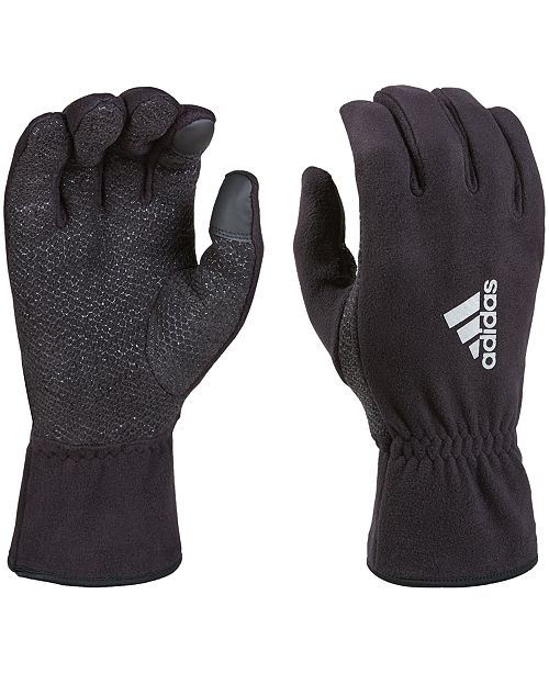 adidas fleece gloves
