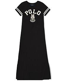 Polo Ralph Lauren Big Girls Jersey Cotton Maxidress