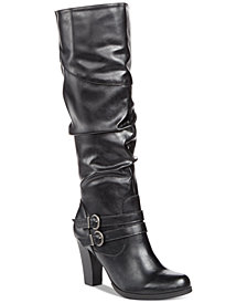 Style & Co Sana Wide-Calf Boots, Created for Macy's