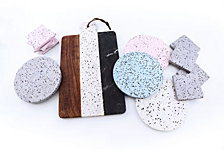 Thirstystone Modern Farmhouse Terrazzo & Marble Accessories